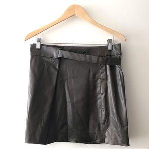 Chloe 100% Silk Morris-Green Mini Skirt Size 4